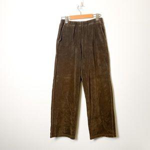 Vintage Brown Corduroy Lounge Athleisure Pants